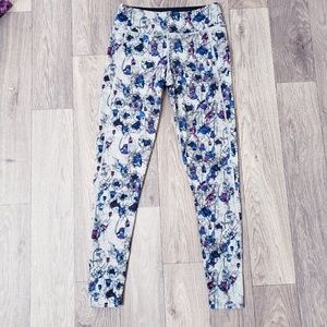Oakley Ohydrolix Floral Active Mid Rise Leggings
